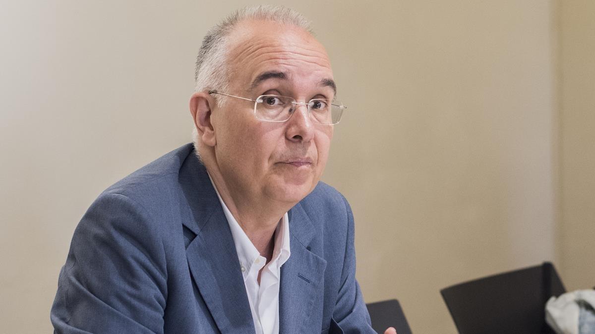 El periodista y escritor barcelonés Sergi Doria.
