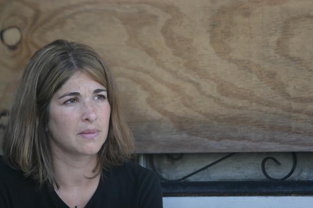 La periodista, escritora y activista canadiense Naomi Klein.