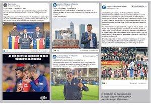 Algunos mensajes centrados en Piqué y el Andorra.