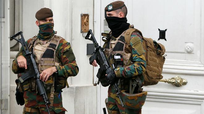 La policía belga detiene a doce personas en una operación antiterrorista