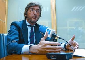 El presidente del PP de Álava, Iñaki Oyarzábal, en una imagen de archivo.