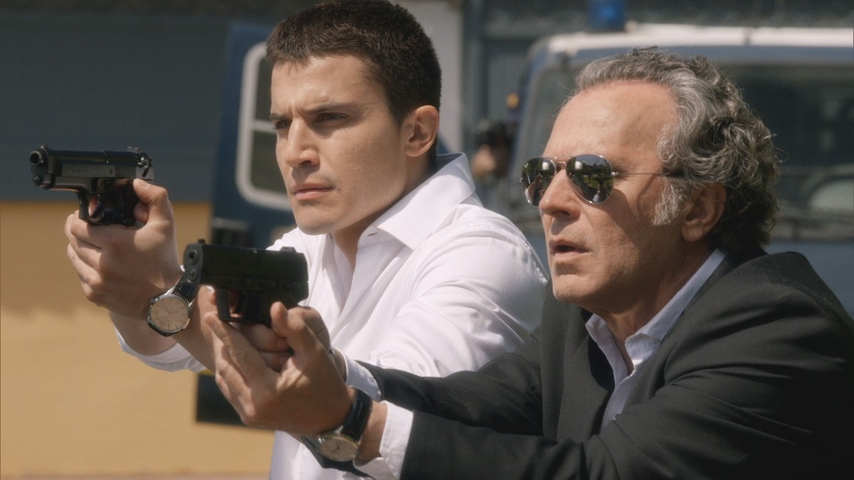 Álex González y Jose Coronado, en el último episodio de El Príncipe.