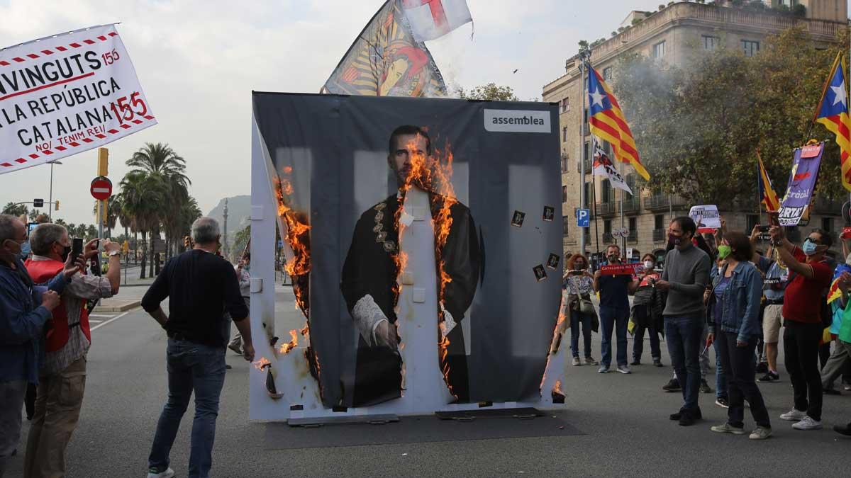 La CUP se moviliza contra el Rey Noticias Política
