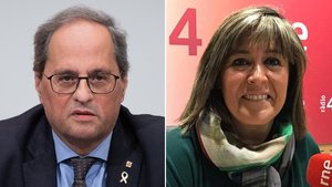 Núria Marín (PSC) critica la gestió «ineficaç» de la Generalitat en el coronavirus