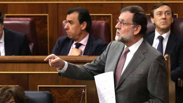 """Rajoy niega toda responsabilidad y llama """"Torquemada"""" a la oposición"""