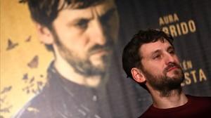 Raúl Arévalo, protagonista de El aviso, la nueva película de Daniel Calparsoro.