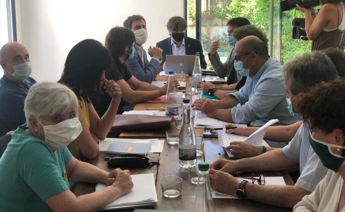 Reunión del Consell per la República, el sábado 4 de julio, en Perpinyà.