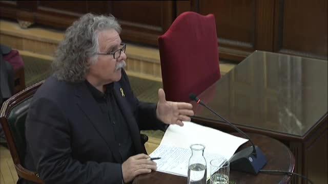 """Joan Tardà: """"Ni la unitat d'Espanya ni la independència de Catalunya valen una mínima violència"""""""