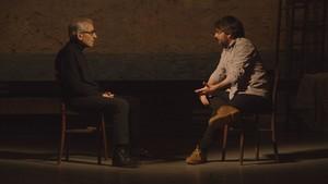 José Sacristán y Jordi Évole, en el último programa de la temporada de 'Salvados' en La Sexta.