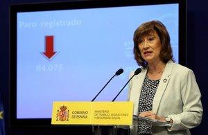 La secretaria de Estado de Empleo, Yolanda Valdeolivas.