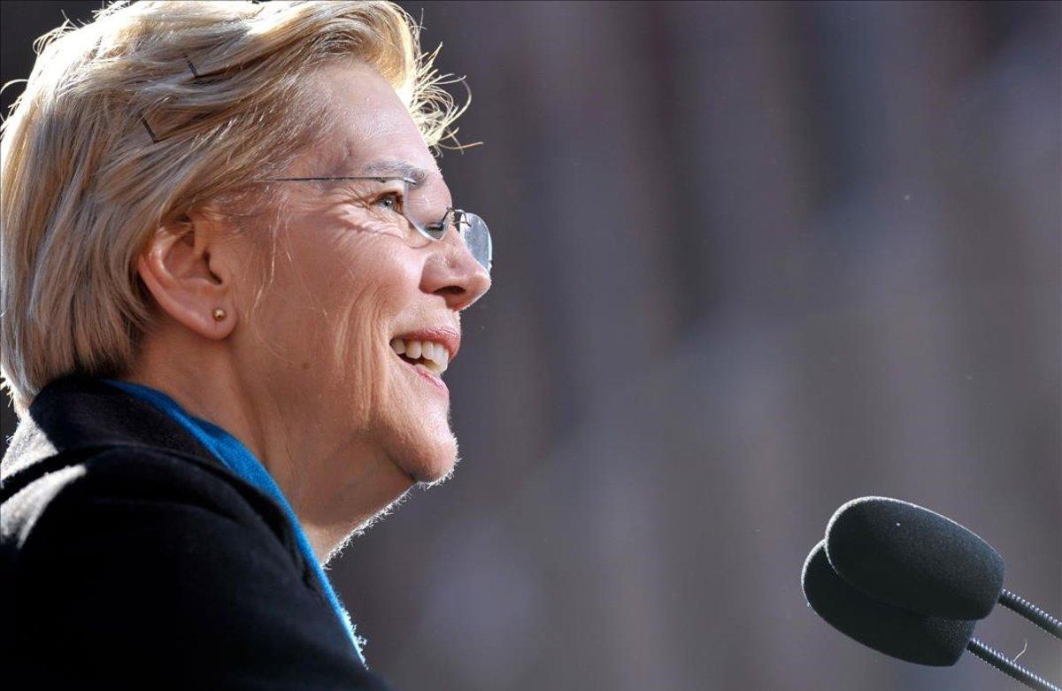 La senadora demócrata, Elizabeth Warren, anuncia su candidatura a las elecciones presidenciales de EEUU del 2020.