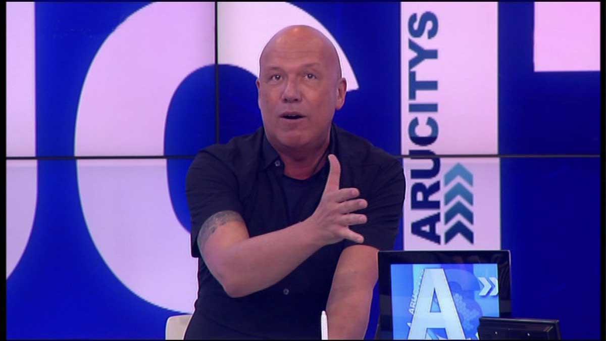Alfons Arús acabó Arucitys en 8TV.