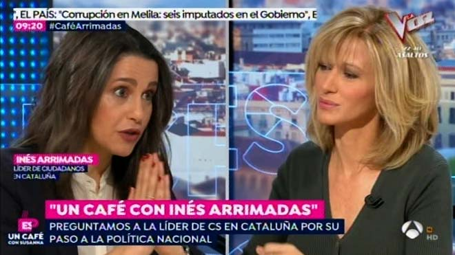 Inés Arrimadas: operació bicicleta