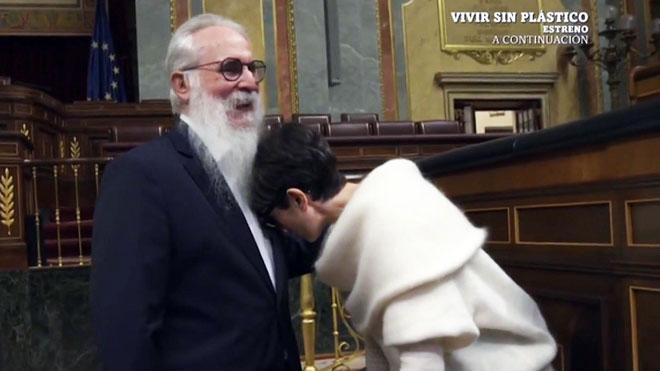 Agustín Zamarrón y Thais Villas. (La Sexta)