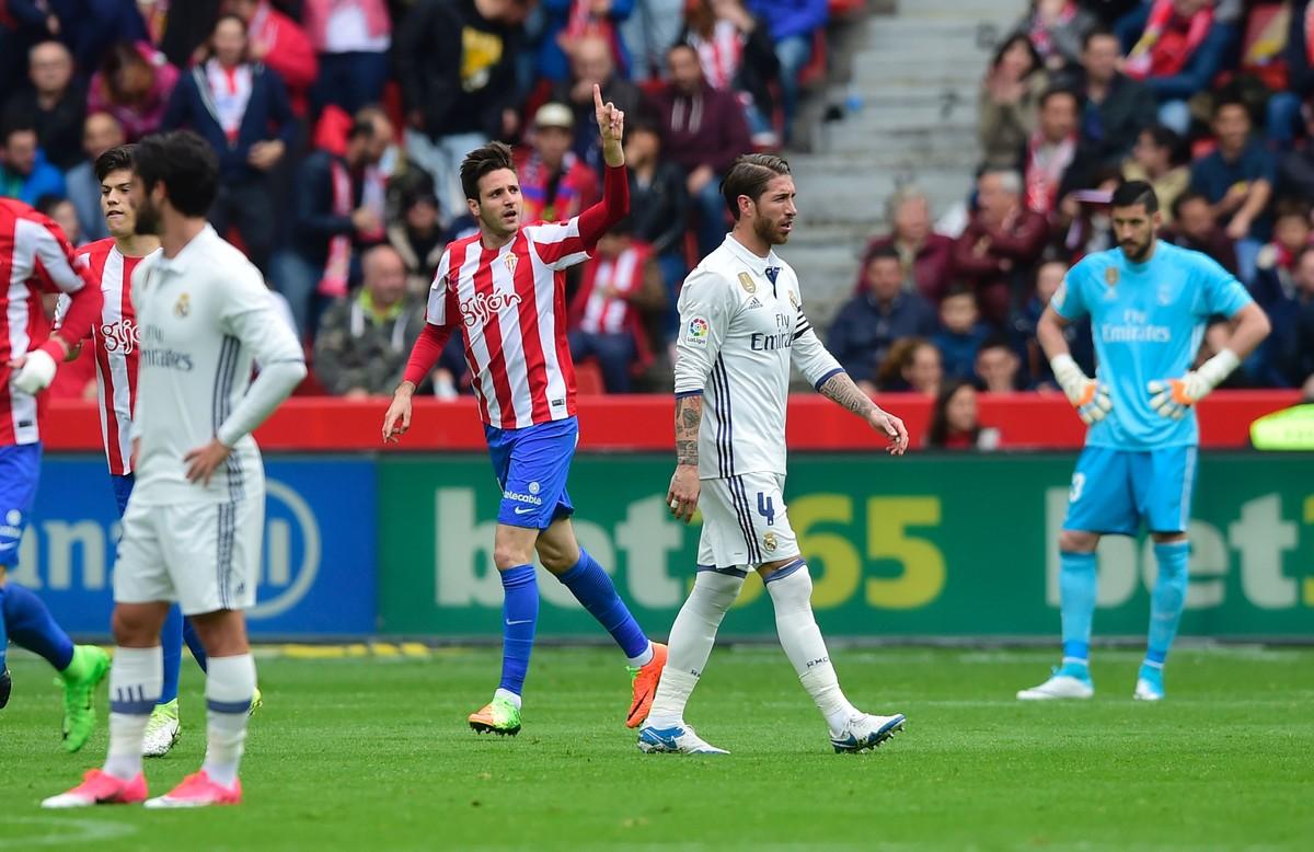 Sporting-Madrid, en El Molinón.