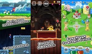 Super Mario Run para Android.
