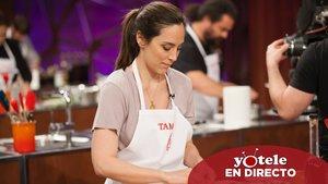 Tamara Falcó en la primera prueba de la gala 2 de 'Masterchef Celebrity 4'.