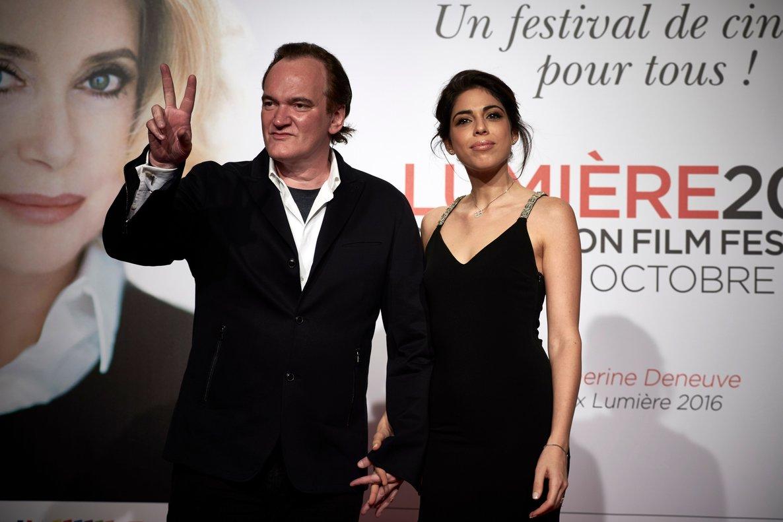 Tarantino, de 55 años, y Pick, de 35, se casaron en una ceremonia íntima organizada en Los Ángeles.
