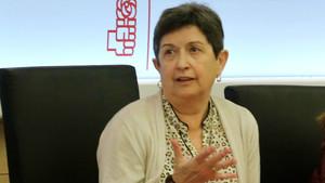 Teresa Cunillera, en marzo del año pasado, en Madrid.