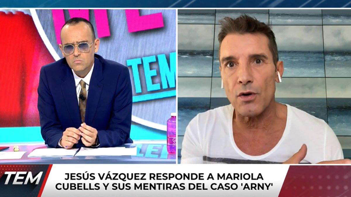 """La respuesta de Jesús Vázquez ante la confesión de Mariola Cubells: """"No tengo rencor"""""""