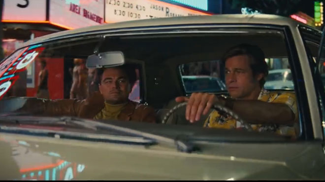 Tráiler de 'Once upon a time in Hollywood', de Quentin Tarantino.