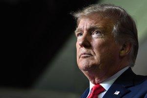 El presidente Donald Trump y su declaración de emergencia para construir el muro fronterizo.