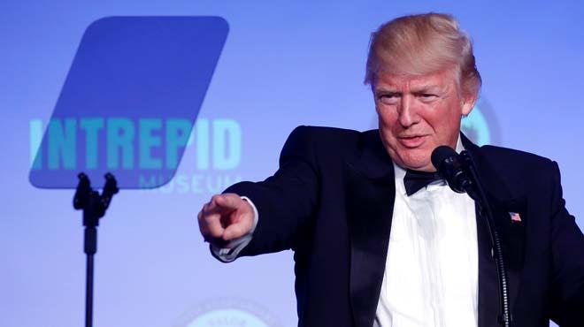 Trump celebra su primera gran victoria desde que es presidente.