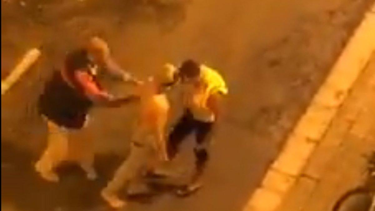 Albiol difon el vídeo d'una baralla al barri de la Salut de Badalona