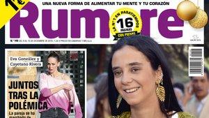 Victoria Federica, en la portada de 'Rumore'.