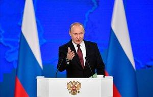 Vladimir Putin, el presidente de Rusia.