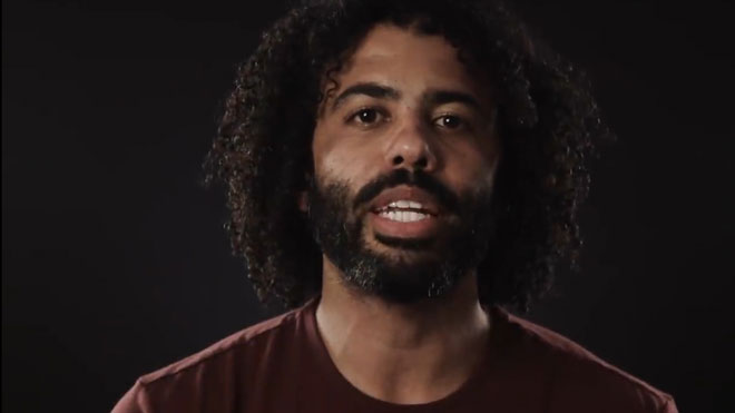 """""""What to My People is the Fourth of July?"""", por Daveed Diggs."""