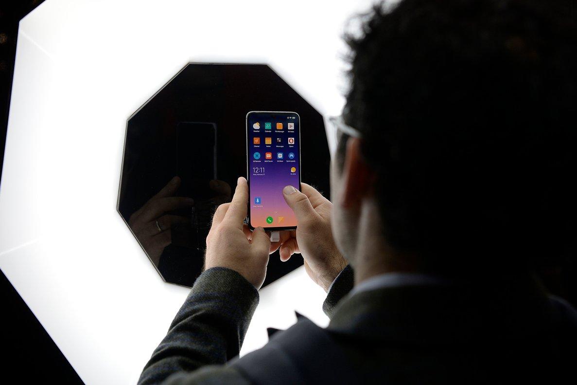 Imagen de archivo de un Xiaomi en el Mobiel World Congress de 2019