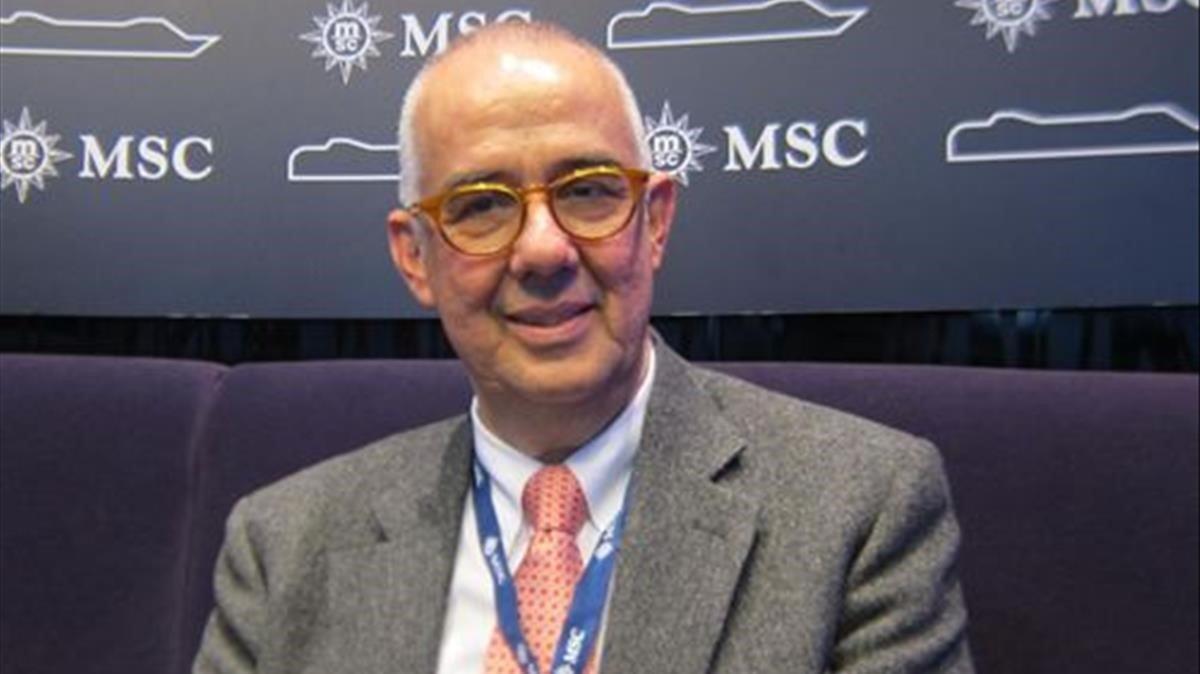 Mor Emiliano González, president de MSC Espanya, per coronavirus