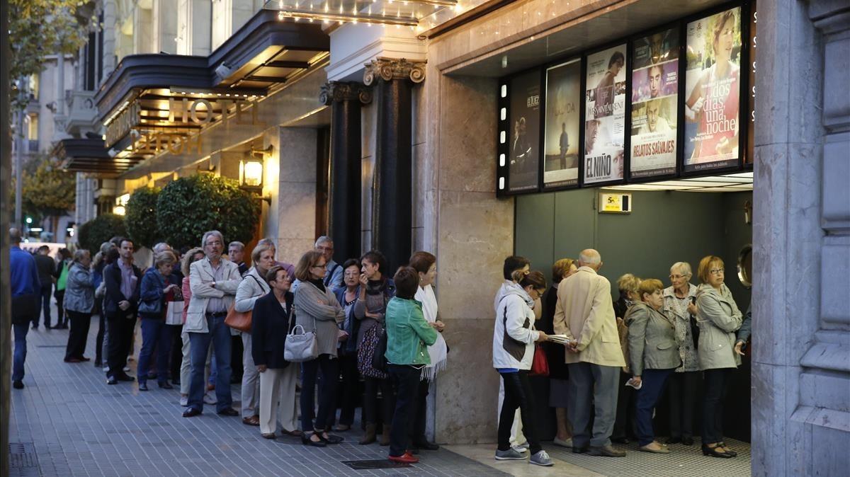 Las grandes cadenas de cine rebajan el precio de sus entradas