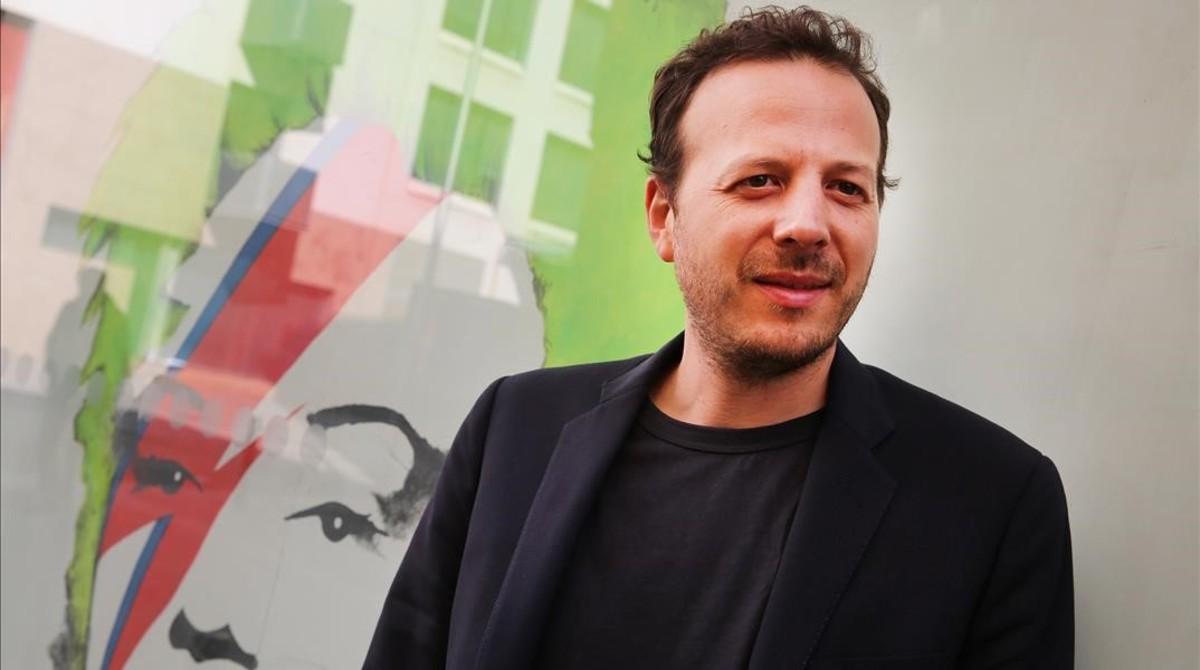 El director mexicano nacido en Barcelona Amat Escalante.