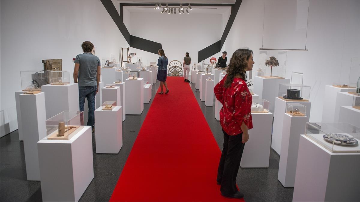 Exposición sobre Joan Brossa en el Macba.