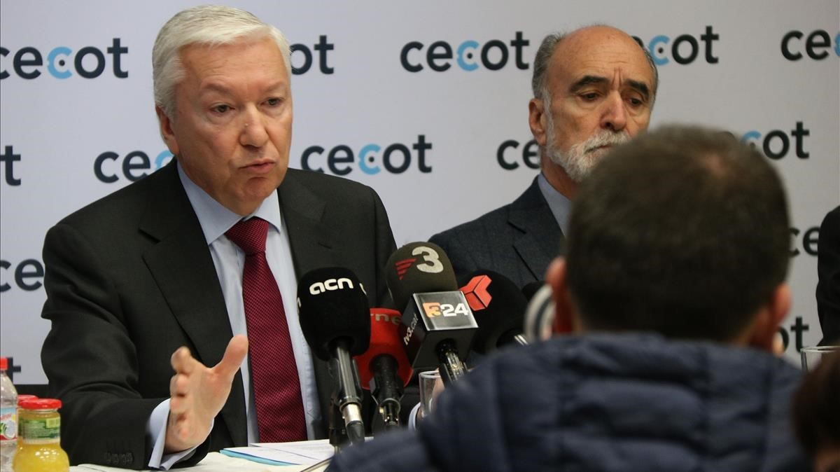 Antoni Abad, presidente de Cecot.