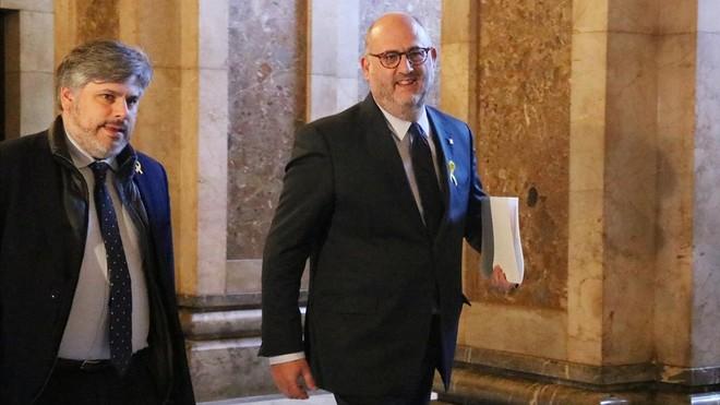 """ERC acusa a JxCat de """"mentir"""" y da por """"rota"""" la confianza entre ambos grupos"""