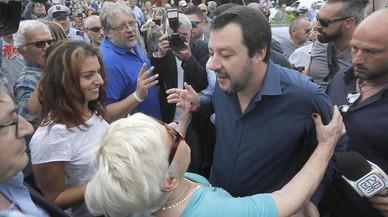 La xenófoba Liga gana apoyo popular en medio del caos por formar Gobierno en Italia