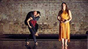 El espectáculo 'Here', de la coreógrafa y bailarinaLali Ayguadé.