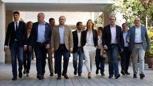 Los candidatos del PP a las elecciones generales por las circunscripciones catalanas.