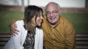 Carmen y Jorge Bastida, padre e hija con esclerosis múltiple.