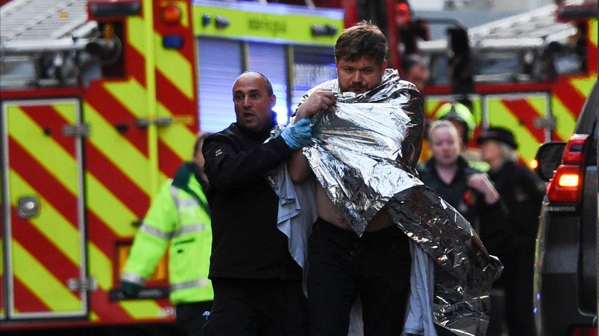 Atac al Pont de Londres: Pànic en un dia de sol radiant