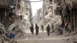 Síria acaba l'any amb menys morts i més territori en mans d'Al-Assad