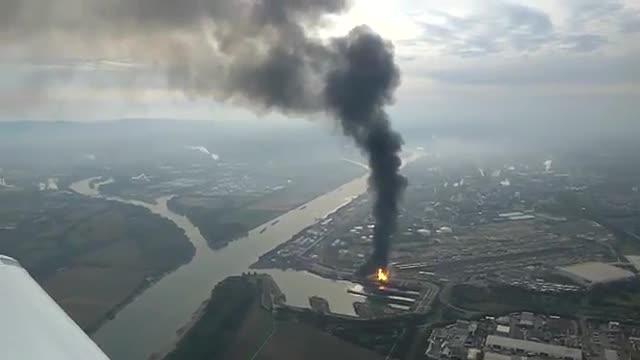 Explosió en una planta de BASF