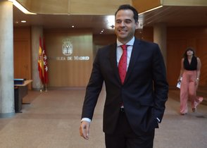El portavoz de Ciudadanos en la Asamblea de Madrid,Ignacio Aguado.
