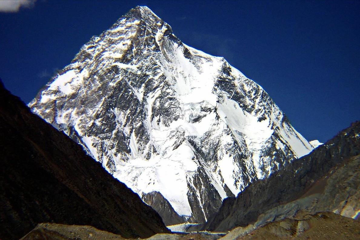 El K2, de 8.611 metros, en el Karakórum (Pakistán).