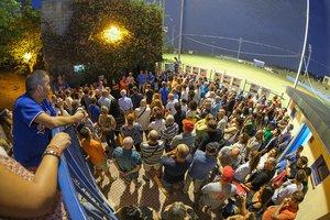 Acto oficial de presentación del nuevo nombre del campo de béisbol de Sant Boi.