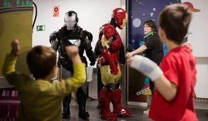 Quan Iron Man va matar el càncer