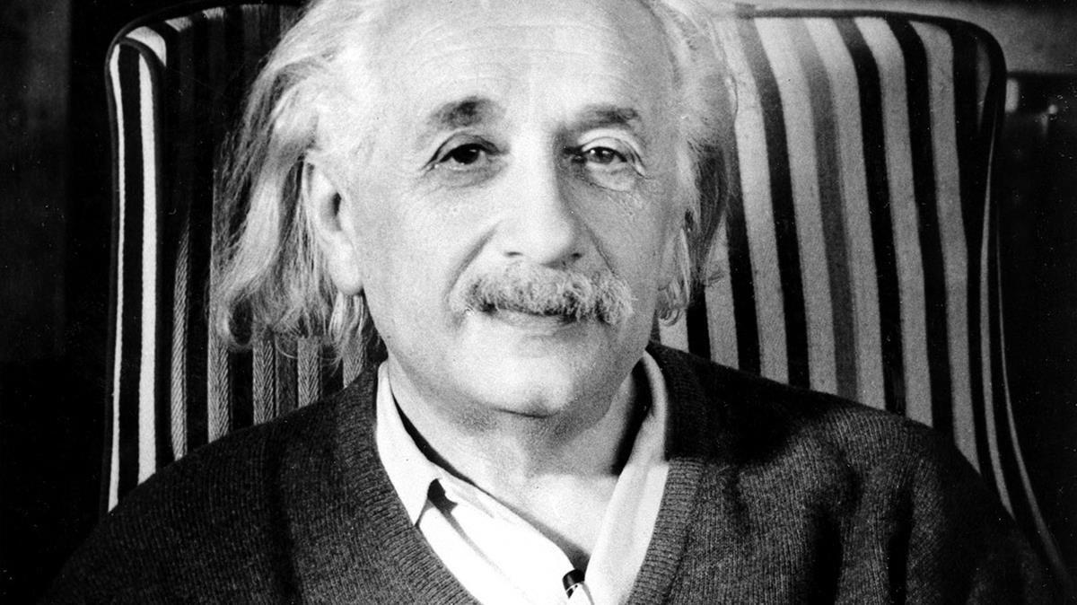 Albert Eisntein.